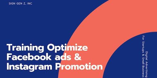 Training Instagram Promotion & Facebook ads