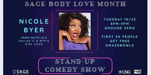 Body Love Month: Nicole Byer Comedy Show