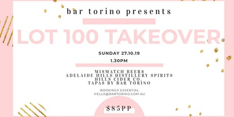 BAR TORINO x LOT 100 TAKEOVER tickets