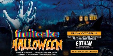 FruitCake: Halloween tickets