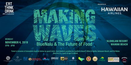 EAT THINK DRINK: Making Waves – BlueNalu and the Future of Food tickets