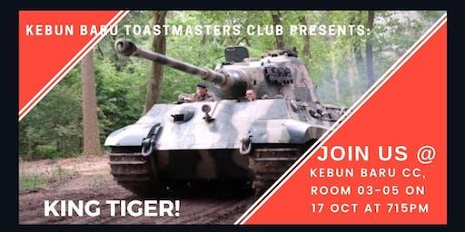 "Kebun Baru Toastmasters Club - Meet the ""King Tigers"""