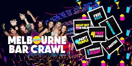 Melbourne Bar Crawl [Thursday Night] tickets
