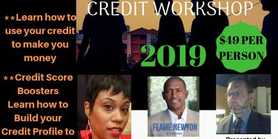 BOSS UP GET YOUR CREDIT SCORE UP CREDIT WORKSHOP