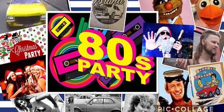 TASC 80's Themed Christmas Party 2019!  tickets