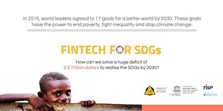 FinTech for SDG's tickets