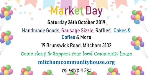 Mitcham Community House Market Day