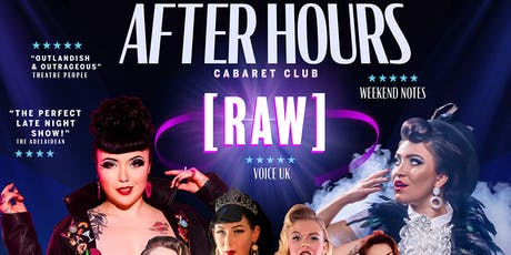 After Hours [RAW] tickets
