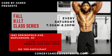 Core By James Fall H.I.I.T Class Series  tickets