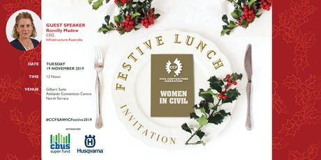 CCF SA 2019 Women in Civil Festive Lunch tickets