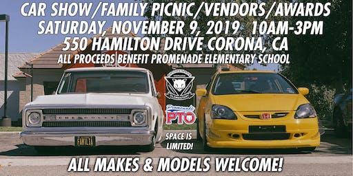 Promenade Panther Classic Car Show