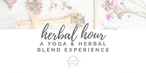Herbal Hour: A Yoga & Herbal Tea Blend Experience