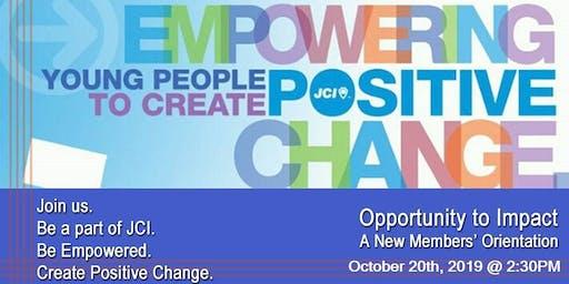 JCI New Member Orientation