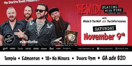 The Wild w/ Whale & The Wolf and The Unfortunates tickets