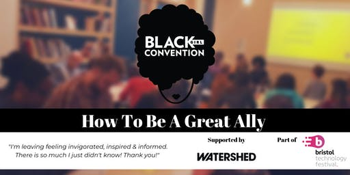 How To Be A Great Ally: Diversity & Inclusion Workshop