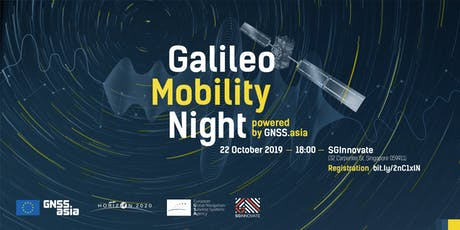 Galileo Mobility Night, powered by GNSS.asia tickets