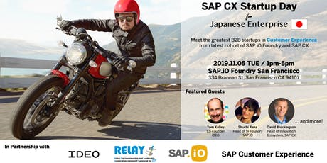 SAP CX Startup Day for Japanese Enterprise tickets
