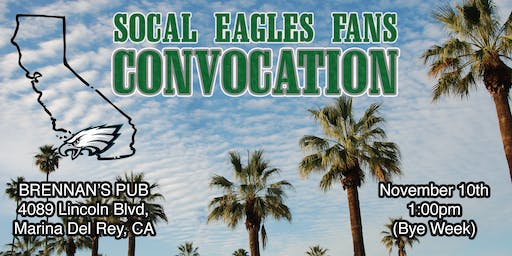 SoCal Eagles Fans Bye Week Party