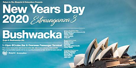Nyd Extravaganza #3 with Bushwacka!  Return to Rio, Blueprint &Rotary Disco tickets