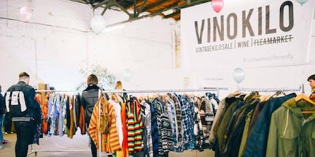 FREE TICKETS: Vintage Kilo Sale • Krefeld • VinoKilo Tickets