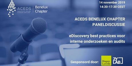 eDiscovery best practices voor interne onderzoeken en audits tickets