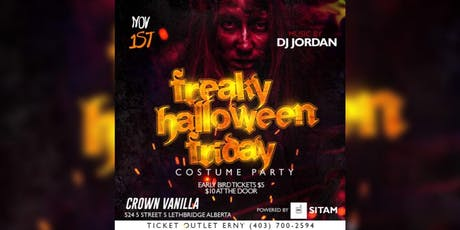 Freaky Halloween Friday tickets