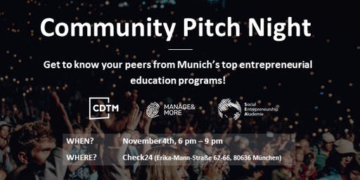 Community Pitch Night