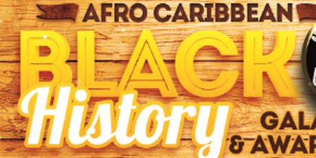 Afro Caribbean Black History Gala & Awards tickets