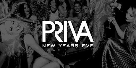 PRIVA - New Year's Eve Soirée 2019 tickets