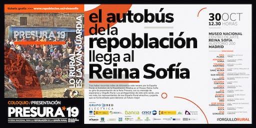 Presentación en el Reina Sofía PRESURA19 Feria Nacional para la Repoblación