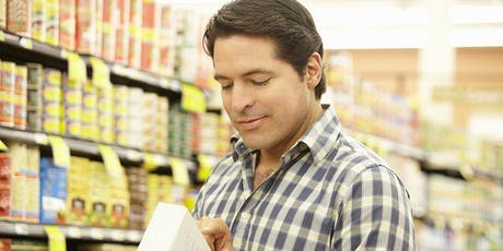 Food labeling – how to find healthier options workshop tickets