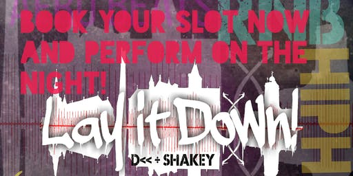 Lay It Down Fridays