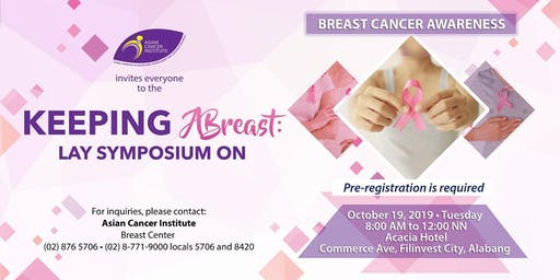 Keeping Abreast: Lay Symposium on Breast Cancer Awareness