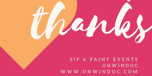Sip and Paint UnwindOc @ Granite Lion Cellars