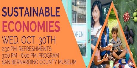 Sustainable Economies: Flash Talk tickets