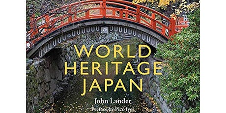 Book Launch / Author Event: World Heritage Japan tickets