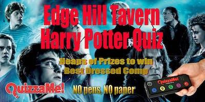 Edge Hill Tavern Harry Potter Quiz