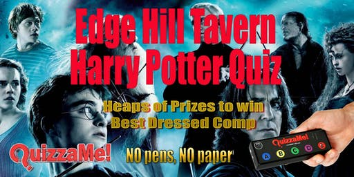 Edge Hill Tavern Harry Potter Quiz