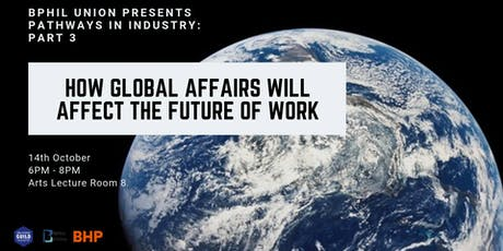Pathways in Industry III: How Global Affairs will affect the Future of Work tickets