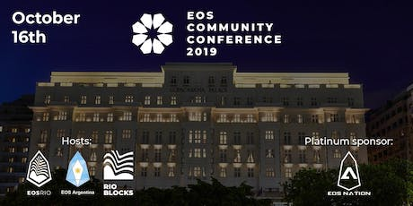 EOS Community Conference 2019 ingressos