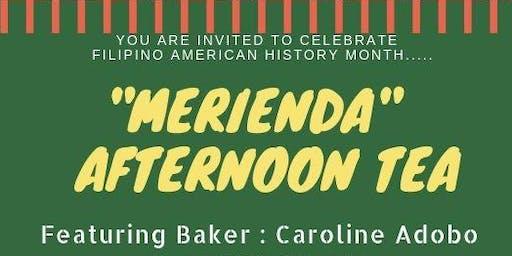 Merienda Afternoon Tea with Caroline Adobo at TATANG