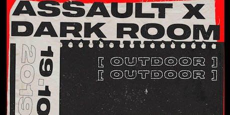 Assault x Dark Room - Techno Sessions (OUTDOOR) entradas