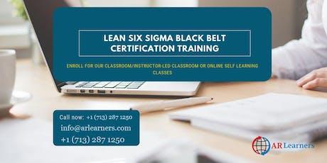 LSSBB 4 days Certification Training in Phoenix, AZ, USA tickets