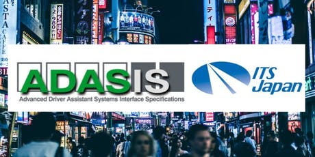 Presenting ADASIS in Japan  tickets