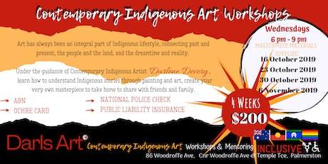 Indigenous Art Workshops - Night Classes tickets