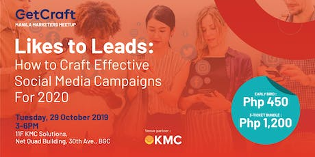 Likes to Leads: How to Craft Effective Social Media Campaigns for 2020 tickets
