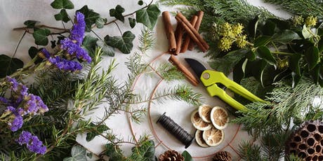 Christmas Wreath Workshop - 10th December tickets