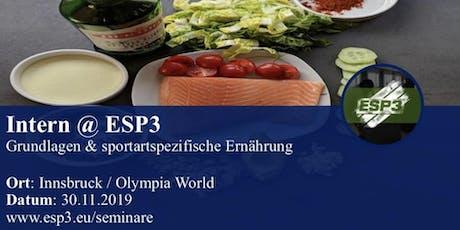 Modul 1 - Grundlagen & sportartspezifische Ernährung Tickets
