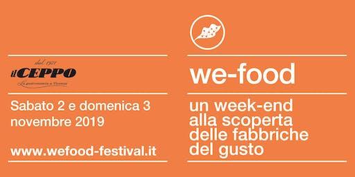 We-Food 2019 @ Gastronomia Il Ceppo