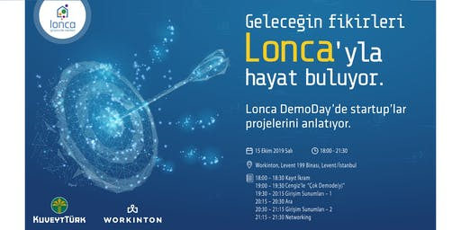 Lonca DemoDay - 4. Dönem Girişimleri Mezuniyet Etkinliği